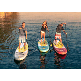 Indiana SUP Apatcha 10'6 Sky Opblaasbare SUP, blue/lime